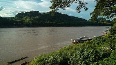 Mekong Riverside in Luang Prabang