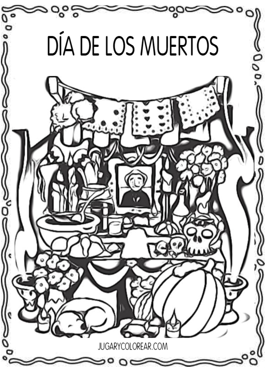 Día De Los Muertos Cuentos Dibujos Y Actividades Día De