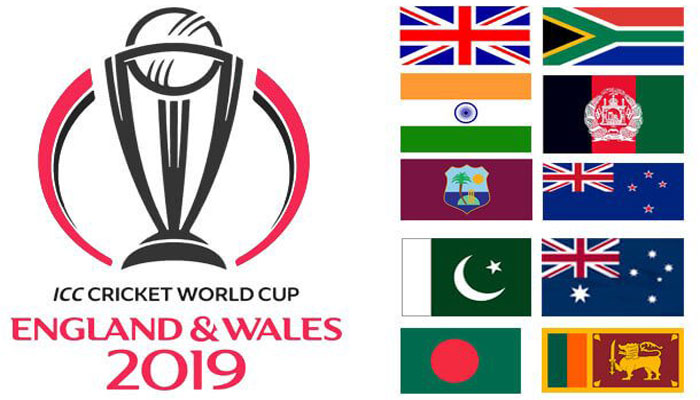 ICC Cricket World Cup 2019 Points Table and Standings