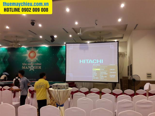 Công ty cổ phần EVERRICHS tại TpHCM thuê máy chiếu