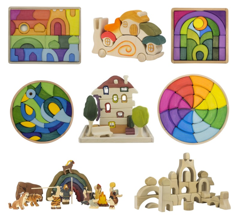 trees for kids wooden puzzles