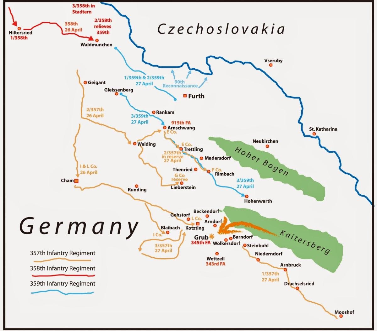 Schlachtfelder Des 2 Weltkriegs Karte.Kotztinger Geschichte N Das Ende Des Zweiten Weltkrieges
