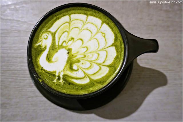 Matcha Latte de Ogawa en Boston para Recuperar Energías