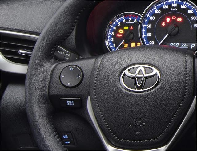 Toyota Yaris 2021 com facelift tem fotos e detalhes revelados