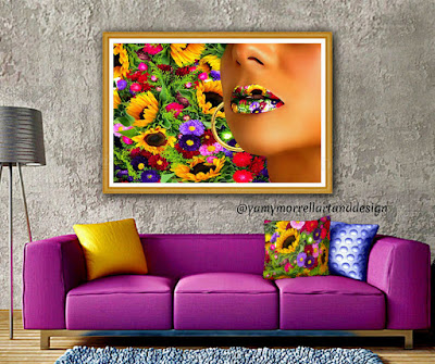 woman-lips-flowers-multicolor-art-by-yamy-morrell