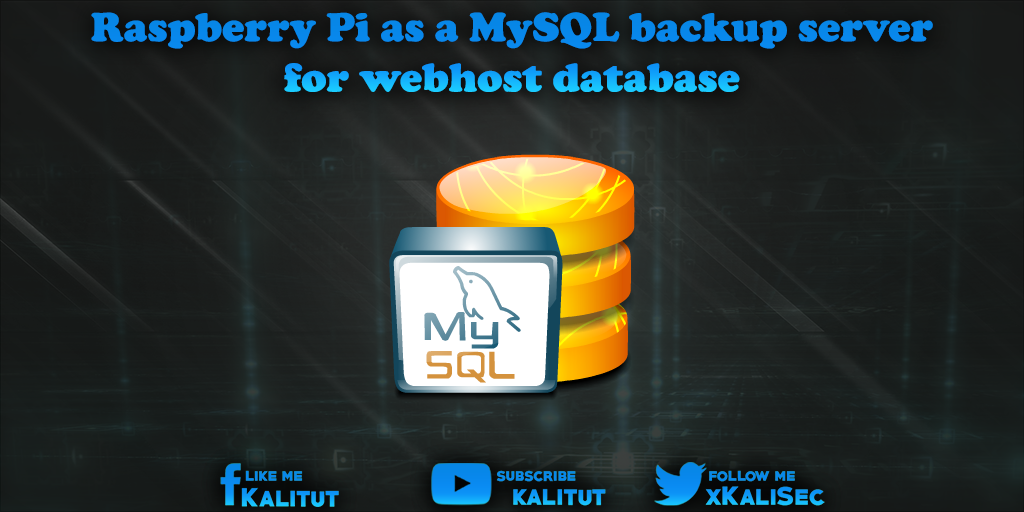 Raspberry Pi MySQL backup server