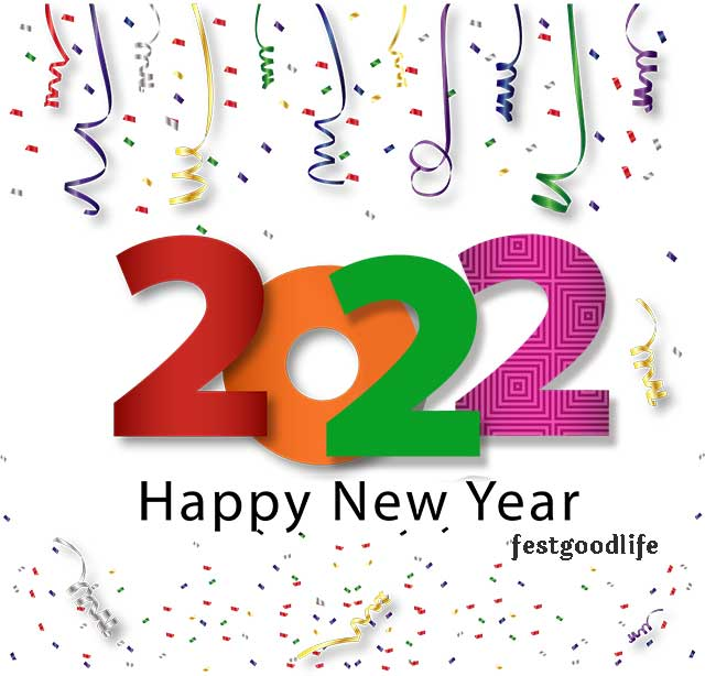 simple happy new year 2022
