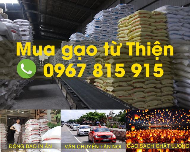 Mua gạo từ thiện