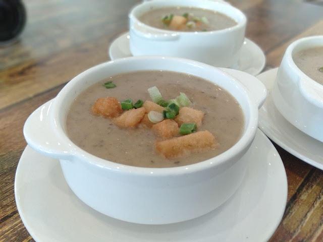mushroom soup restoran lemon tree johor bahru