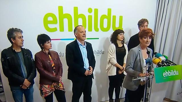 EH Bildu se abstendrá para facilitar la investidura de la socialista María Chivite en Navarra