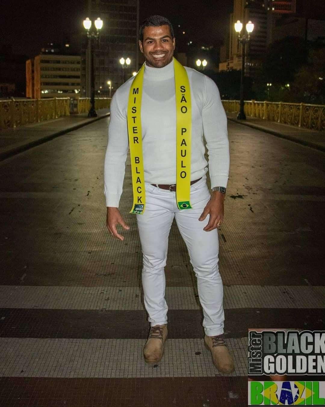 Renan Santiago representou a cidade de São Paulo no Mister Black Golden Brazil 2019. Foto: Neobeck Benedito