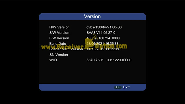 SUPERGOLD SG 6666 V2 1506TV 512M 8M NEW SOFTWARE WITH GO SAT PLUS V2 & G SHARE PLUS V2 OPTION 28 JUNE 2021