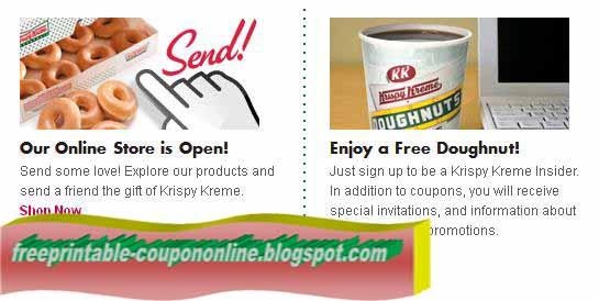 Krispy kreme printable coupons