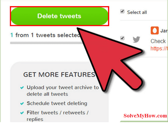 how to delete old tweets from twitter