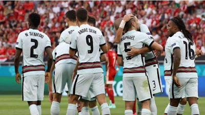 Jelang Pertemuan Portugal vs Jerman di Fase Group Euro 2020