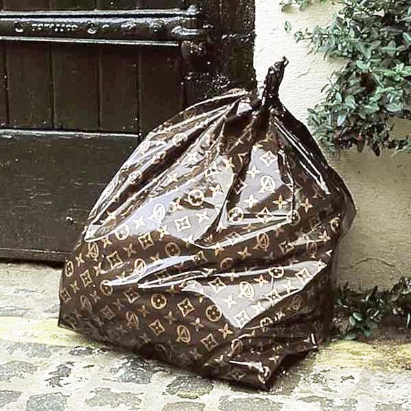 Claude el khal zb l sign e - Louis vuitton trash bag ...