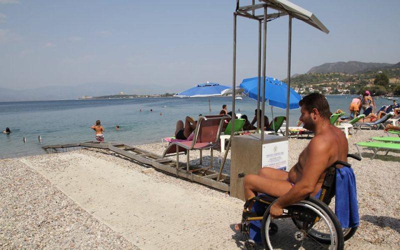Έργα πρόσβασης για ΑΜΕΑ σε παραλίες του Δήμου Σιθωνίας