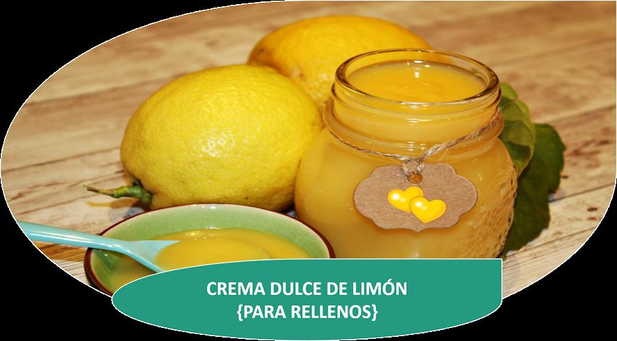 CREMA DE LIMÓN PARA RELLENOS (LEMON CURD)