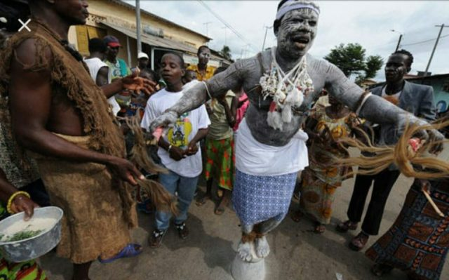 The 50-year-old woman and her young daughter  killed over witchcraft allegation