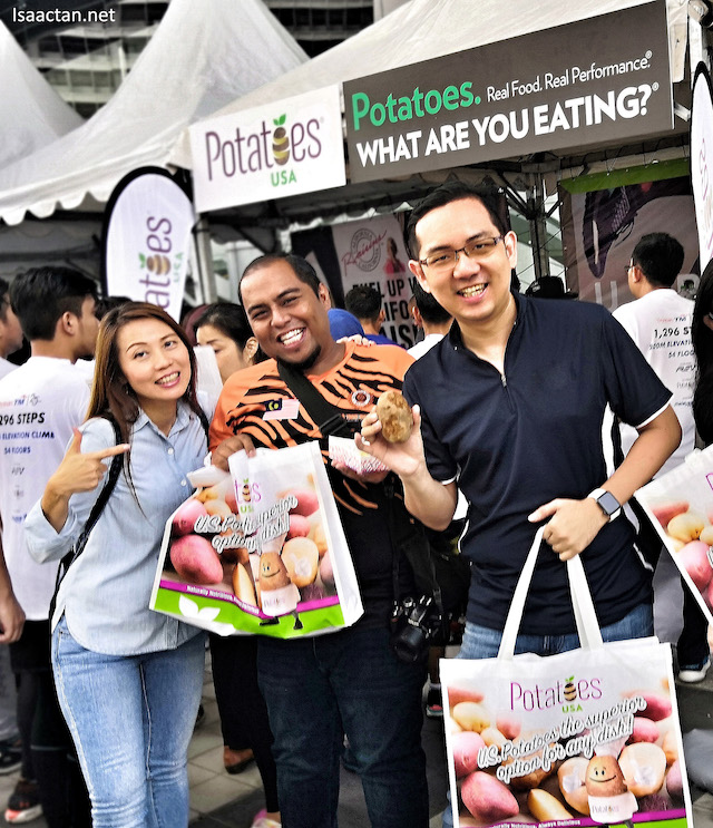 Potatoes USA Promotes Potatoes For Yayasan TM Tower Run 2019