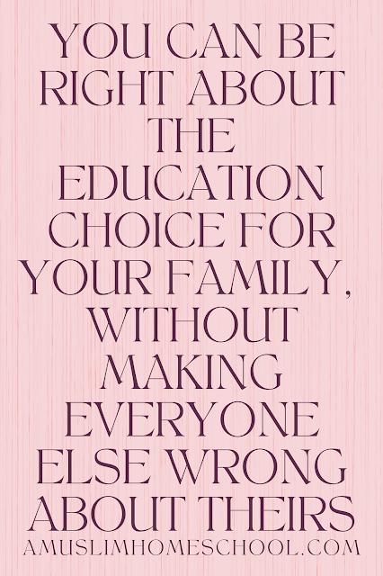 School and homeschool quote