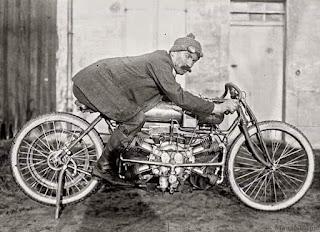 Rene Gillet 1911 2600cc Four Cylinder  Paris