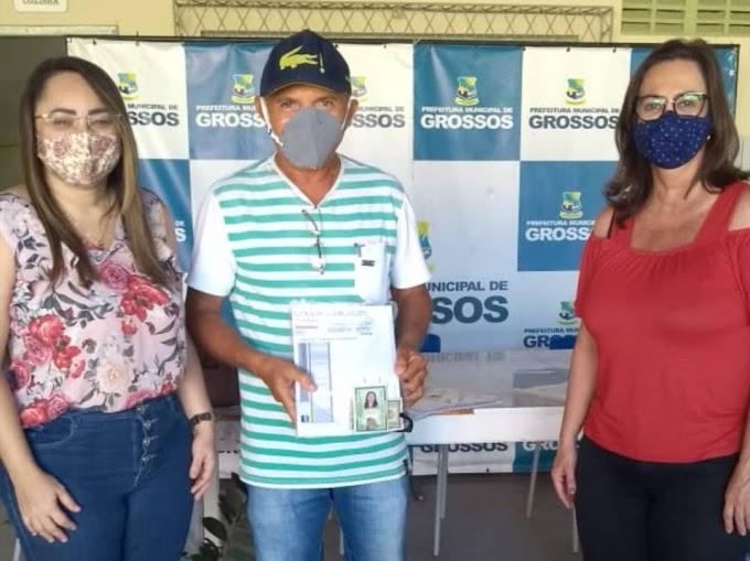 96 empreendedores de Grossos são beneficiados com o financiamento da AGN
