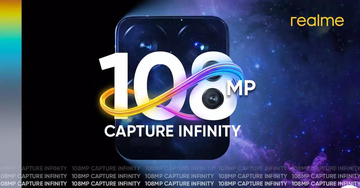 realme 108MP smartphone