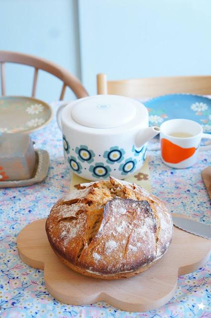 pain au levain petit déjeuner healthy sourdough bread