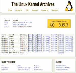 Kernel de Linux, diccionario GNU/Linux - LinuxAll