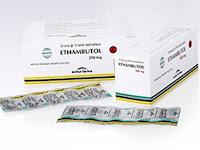 Ethambutol - Kegunaan, Dosis, Efek Samping