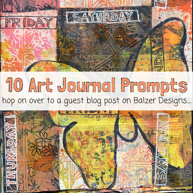 10 art journal prompts http://schulmanart.blogspot.com/2015/10/10-art-journal-prompts.html
