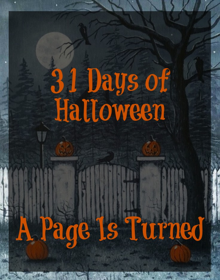 A Page Is Turned: 31 Days of Halloween!