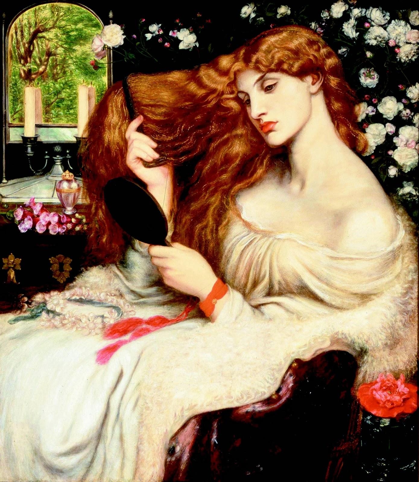 The Velvet Whisper: Lady Lilith, Dante Gabriel Rossetti