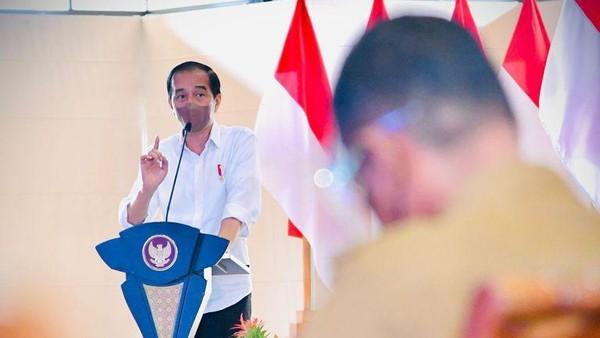 Sentilan Jokowi Tertuju ke Bobby Buntut APBD Tersisa Triliunan