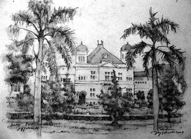 Sketsa Kantor Bank Indonesia Jogjakarta