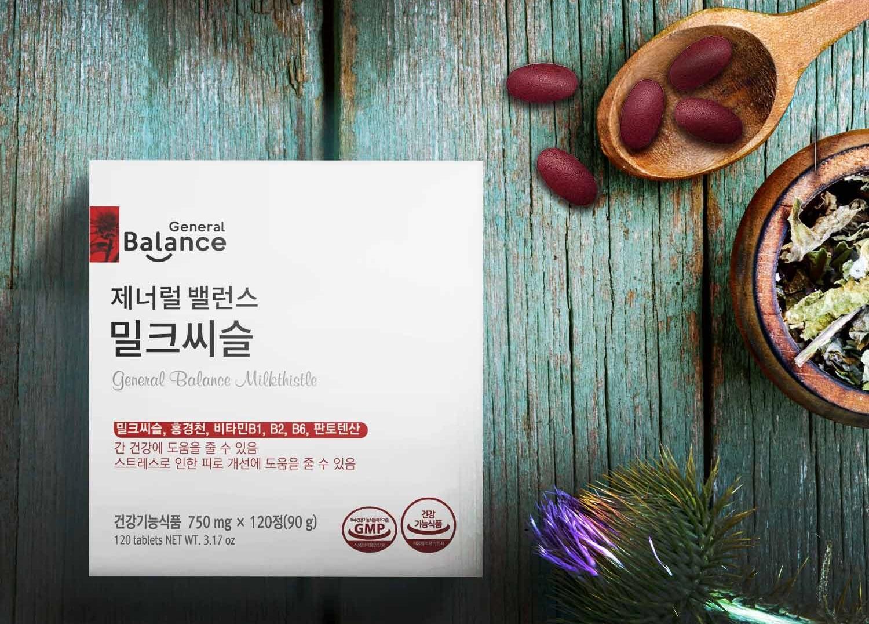 General Balance Milkthistle - thực phẩm bảo vệ sức khỏe