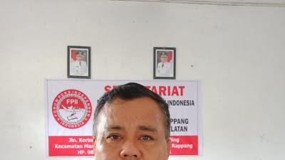 Tahanan di Rutan Klas II B Sidrap Kabur, FPII Korwil Sidrap Nilai Ka Rutan Tak Becus Urus Institusinya