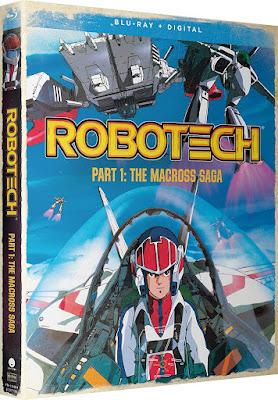 Robotech Part 1 The Macross Saga Bluray