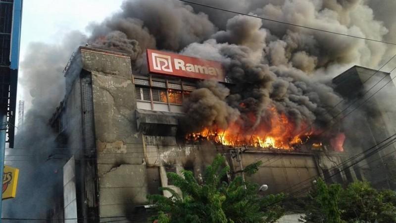 Kebakaran hebat di Plaza Ramayana, Aksara Medan
