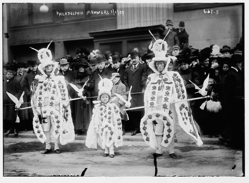 Vintage Photos Of New Year s Eve since 1876   vintage everyday 1909  The annual Mummers Parade in Philadelphia is one of the oldest folk  festivals in America  Here is the parade in 1909