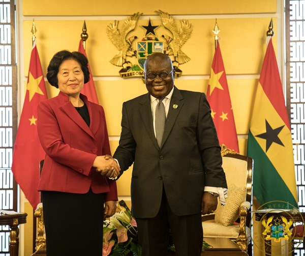 """Stability, Development Are The Highlights Of Your Gov't"" – Chinese Vice Premier To President Akufo-Addo"
