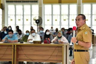 Gebernur Edy Rahmayadi Ajak Wartawan Sosialisasikan Larangan Mudik