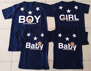 Jual Online FM2 Baby Boy Couple Murah Jakarta Bahan Combed Terbaru
