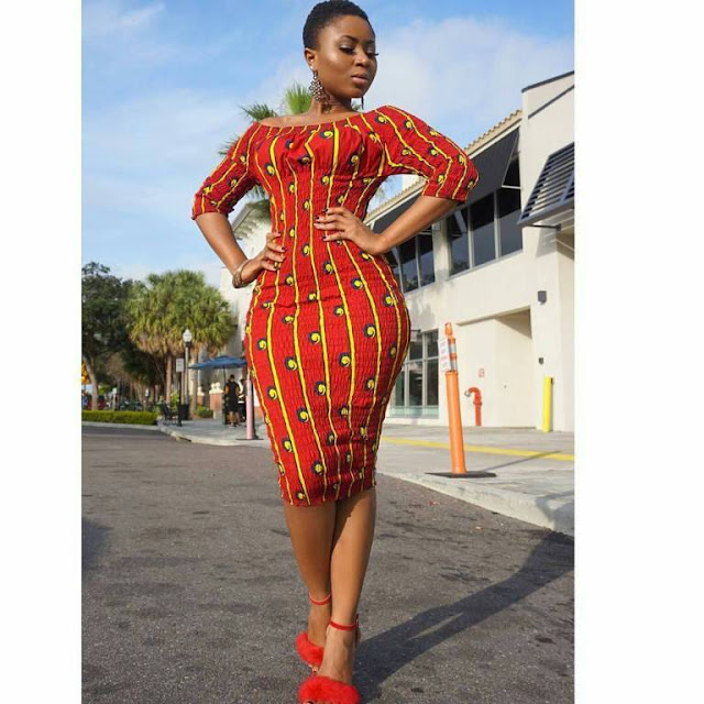 African dress, Ankara Dress, African wears, party outfit, chic dresses 2018