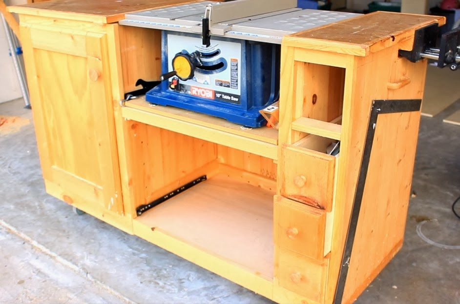 Diy Table Saw Workstation Part 1 A New Beginning