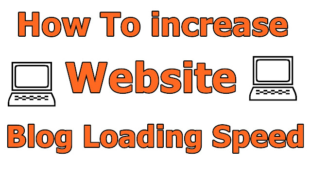 How to increase website loading speed