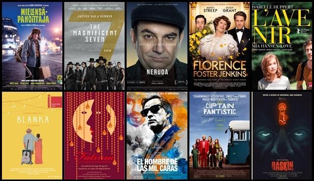 Estrenos, cines, septiembre, 2016