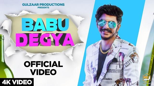 Babu Degya MP3 Song Download - Gulzaar Chhaniwala
