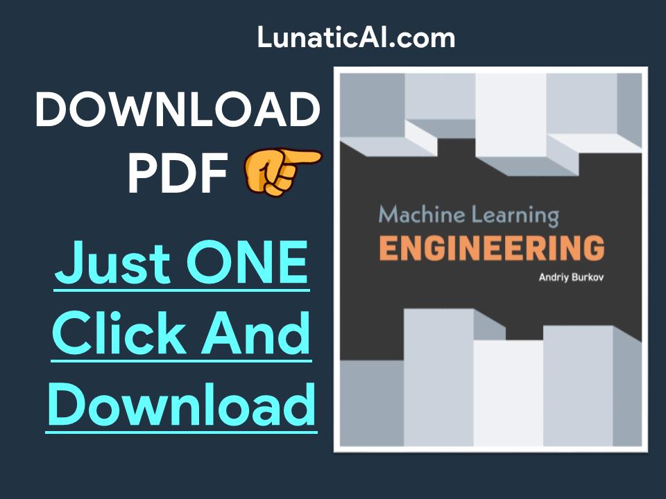 Machine learning Engineering PDF
